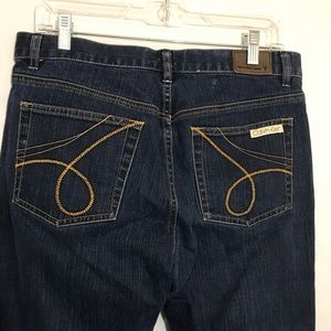 Calvin Klein Cropped Jeans Size 8